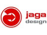 Логотип Jaga Design, салон эксклюзивных приборов отопления
