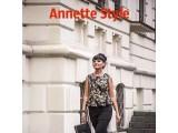 Логотип ANNETTE style, магазин молодежной женской одежды