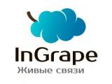 "Логотип ""InGrape"", Виртуальная АТС, ООО БКР"